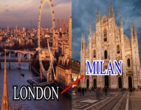 London to Milan